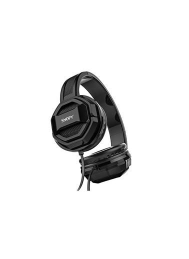 Snopy Sn-101 Bonny Siyah Pctelefon Mikrofonlu Kulaklık Renkli
